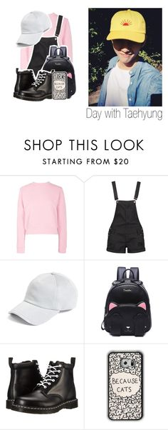 """Day with Taehyung ❣"" by littlebluelight ❤ liked on Polyvore featuring Boohoo, rag & bone, Dr. Martens, kpop, bts and taehyung"