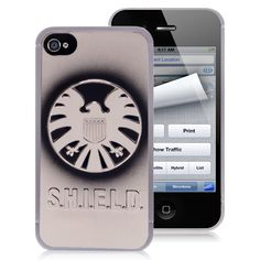 The Avengers Shield Logo iPhone 4 Metal Cover Case by Cellz $4.57 #iPhone4 #Cases #back #covers #awesome #cheap #free #shipping #avengers #superman #batman #spiderman #revengers #phone #accessories #iPhone #smartphones Iphone 4 Cases, Iphone 4s, Avengers Shield, Cheap Iphones, Nerd Fashion, Shield Logo, Batman Spiderman, Superman, Smartphone