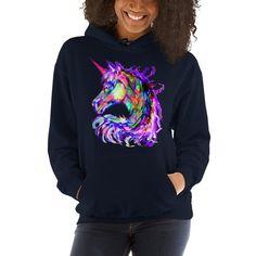 Starchilds Designs colorful Rainbow Kitten Cat Cute Unisex Sweatshirt