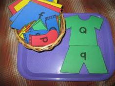 preschool lapbook (bad link)- Cute idea for an activity once the kids know they're letters