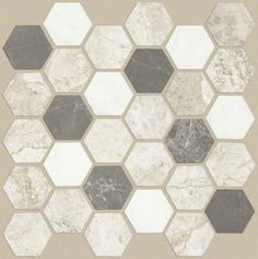 Buy the Shaw Seamist Direct. Shop for the Shaw Seamist Boca Hexagon Mosaic - x Sheet Hexagon Geometric Mosaic Floor Tile - Travertine Visual - Sold by Sheet SF/Sheet) and save. Stone Mosaic, Stone Tiles, Mosaic Tiles, Wall Tiles, Backsplash Tile, Tiling, Mosaics, Shower Floor Tile, Flooring Store