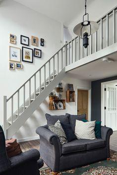 Deirdre's dark, daring cottage on the outskirts of Galway City Brooklyn House, Irish Interiors, Cottage House Designs, Irish Houses, Cottage, Cottage Interiors, Cottage Renovation, Home, Irish Cottage Decor