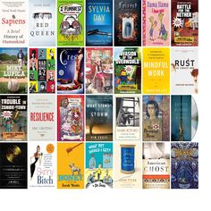 """Saturday, March 7, 2015: The Granville County Library System has nine new bestsellers, two new audiobooks, 51 new children's books, and 70 other new books.   The new titles this week include """"Sapiens: A Brief History of Humankind,"""" """"Red Queen,"""" and """"I Totally Funniest: A Middle School Story."""""""
