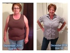 "I am so happy to share with you all of Pam's success on her first 90 Day Challenge with Skinny Fiber She is amazing Looking wonderful Pam love your smile   Pam sent me the following messages: I started my Skinny Fiber journey Sept 1st, my 90 day journey ended December 1st. I am happy to say, I have lost a total of 11 pounds and 16"" inches to date. I have gone from a size 14 to a size 10! I love Skinny Fiber; Thank you!!!  You can join Pam if interested We offer a 90 DAY MONEY BACK GUARANTEE…"