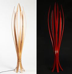 Between Modern and Traditional Unique Floor Lamp Design The