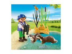 Playmobil 5376 Ochránkyně s vydrami . PLAYMOBIL jsou stavebnice pro děti různých věkových kategorií, které jsou tématicky zaměřené a mají mnoho propracovaných doplňků. Balení obsahuje 1 figurku.