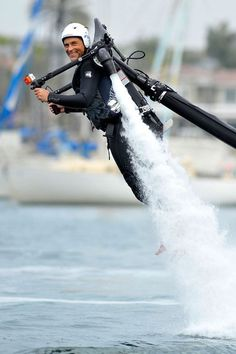 Is There Anyone Happier Than Rob Lowe With a Jetpack?