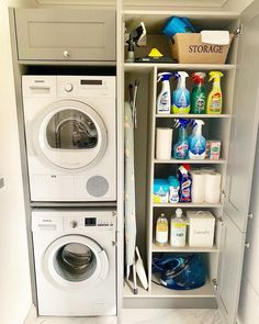 "Exceptional ""laundry room storage diy"" information is offered on our website. Take a look and you wont be sorry you did. Small Utility Room, Utility Room Storage, Utility Room Designs, Small Laundry Rooms, Laundry Room Organization, Storage Room, Storage Ideas, Organization Ideas, Storage Stairs"