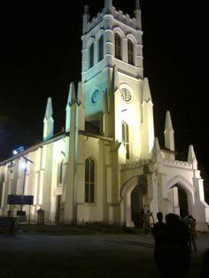 church at shimla.