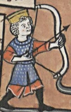 Sleeveless Mail-Surcot? 'Liber Floridus', BNF Latin 8865, fo.41r, northern France, 1251-1275.