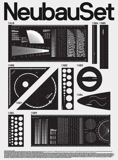 NeubauSet, Library of HD Vector Sets (Neubau Archive) on Behance