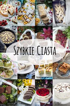 ciasta) Sweet Recipes, Cake Recipes, Delicious Desserts, Yummy Food, Polish Recipes, Something Sweet, Food Inspiration, Sweet Treats, Food Porn