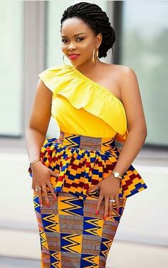 Kente skirt trends, African fashion, Ankara, kitenge, African women dresses, African prints, African men's fashion, Nigerian style, Ghanaian fashion, ntoma, kente styles, African fashion dresses, aso ebi styles, gele, duku, khanga, krobo beads, xhosa fashion, agbada, west african kaftan #Africanfashion