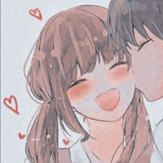 Anime Cupples, Kawaii Anime, Anime Art, Cute Anime Profile Pictures, Matching Profile Pictures, Friend Anime, Anime Best Friends, Anime Couples Drawings, Anime Couples Manga