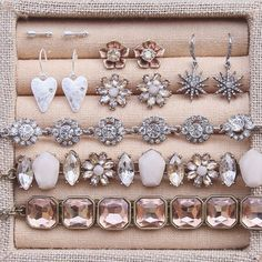 Jewelry box must-haves, great for gifting (and getting!) this Valentine's Day!  Shop on my boutique today!