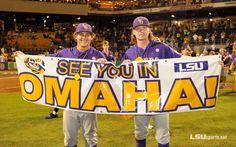Baseball Returns to Its Summer Home - LSU's Mason Katz and Raph Rhymes