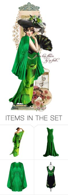 """""""Lucille"""" by sheelanagig1313 ❤ liked on Polyvore featuring art and vintage"""