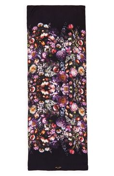 (Ted Baker London | 'Shadow Floral' Silk Scarf)