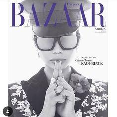 Ode ao Prince: a beleza que é @chaneliman ícone da @hapersbazaarserbia vestindo Linda Farrow LFL449 #innovaoptical #lindafarrow #lfl449 #sunglasses #oculosdesol #design #luxo #weselldesignforliving