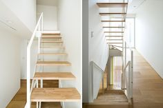 view of stairwell in the yuji kimura design house k tokyo japan