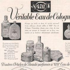 Publicite-1932-Eau-de-Cologne-Tosca-4711-Rhinegold-Parfum-AD