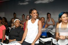 Singer Kelly Rowland of BET's 'Chasing Destiny' attends Soul Cycle with Kelly Rowland at Soul Cycle WEHO on May 18, 2016 in West Hollywood, California.
