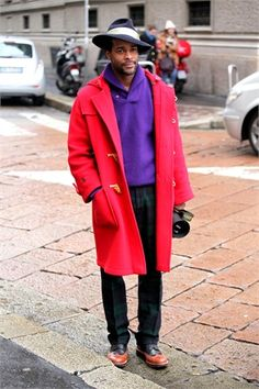 Milan Menswear Fashion Week street style - Vogue.it