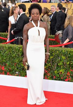 Viola Davis in Max Mara at the SAG Awards