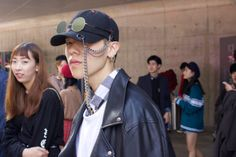 Street Style, Seoul Fashion Week: 29 Eclectic Looks from Outside the Spring 2017 Shows - FASHION Magazine