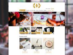 Théme Dekoration - Woocommerce by sophie rousseau  #webDesign #icon #design #web #home #responsive #ecommerce #wordpress #woocommerce #siteWeb #carousel #ui #ux