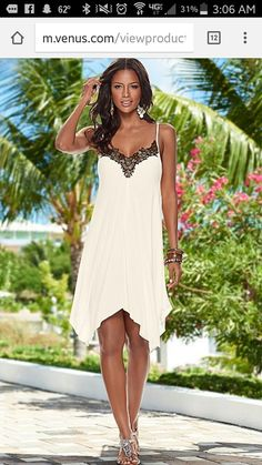 a704c28df22 Trim Detailed Dress from VENUS women s swimwear and sexy clothing. Order Trim  Detailed Dress for women from the online catalog or