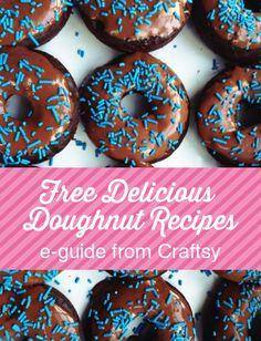 Free Delicious Doughnut Recipes eGuide | My Baking Addiction