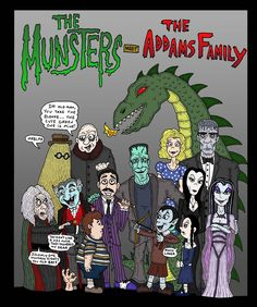 The Munsters meet The Addams Family
