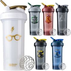 Shop for Blender Bottle Harry Potter Series oz. Shaker Mixer Cup with Loop Top - 28 oz. Get free delivery On EVERYTHING* Overstock - Your Online Kitchen & Dining Store! Bijoux Harry Potter, Cadeau Harry Potter, Objet Harry Potter, Mode Harry Potter, Harry Potter Items, Harry Potter Bedroom, Harry Potter Merchandise, Harry Potter Decor, Harry Potter Houses