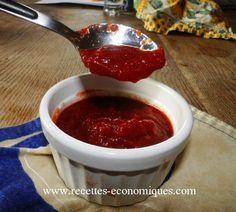 Une recette de ketchup maison, vraiment facile et surtout avec le même gout que celui préféré des ado et de la famille, avec cette recette vous ferez des heureux!!