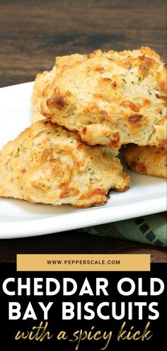 These cheddar Old Bay biscuits match feel good with Chesapeake Bay spice, raising the bar for every other Bisquick biscuit recipe on the planet. They are so easy to make, no matter what the recipe, and so homey good. #cheddar #oldbay #biscuits #cheddaroldbaybiscuits Chipotle Recipes, Spicy Vegetarian Recipes, Vegetarian Appetizers, Bisquick Recipes Biscuits, Biscuit Recipe, Bbq Menu, Buttery Biscuits, Feel Good Food, Brunch Menu