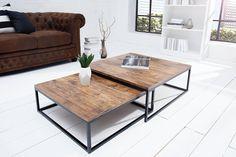 Konferenčné stoly : Set 2 konferenčných stolíkov Fiesta Vintage