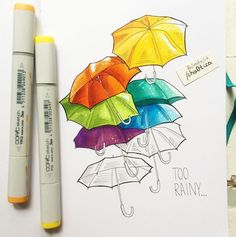 marker copic markers krasnova lisa drawings inspiration easy websta bit drawing salvato