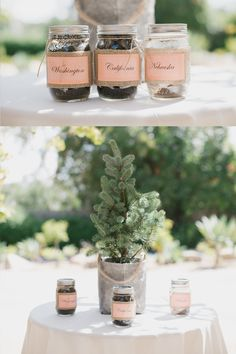 Wedding Ceremony Idea: Plant a tree with a little soil from all ofyour roots. Wait till you see the rest of the wedding http://www.lovewc.me/santabarbarawedding