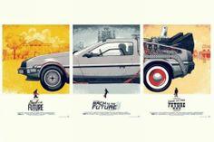 "Movie Back to The Future 1 2 3 Nice Silk Fabric Cloth Wall Poster Print 36x24""   eBay"