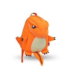 BAGSMART 2017 Animal Waterproof Kids Baby Bags Kindergarten Neoprene Orange Children School Bags For Girls Boys Cute School Bags