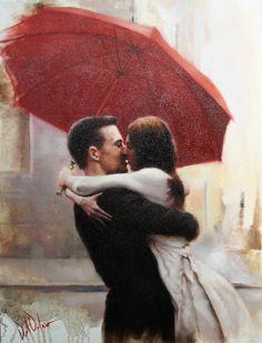 А влюбленным не помеха эта мокрая погода... | Daniel Del Orfano. Обсуждение на LiveInternet - Российский Сервис Онлайн-Дневников