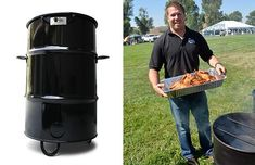 Pit Barrel Cookers: tips and techniques for using this grill/smoker Barrel Smoker, Barrel Grill, Pit Barrel Cooker, Drum Smoker, Grilling Tips, Grilling Recipes, Custom Bbq Pits, Grill N Chill, Bbq Tools