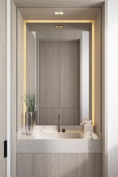 10 Pretty Powder Rooms Find powder room bathroom tile ideas only on this page Restroom Design, Modern Bathroom Design, Bathroom Interior Design, Powder Room Decor, Powder Room Design, Modern Powder Rooms, Powder Room Wallpaper, Modern Baths, Bathroom Furniture