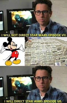 I will not direct Star Wars Episode VII