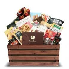 Classic Gourmet Gift Basket Christmas Gift Delivery Christmas Gift Baskets Luxury Christmas Gifts