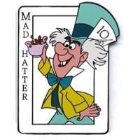 Pin 28475 Disney Auctions (P.I.N.S.) - Mad Hatter Card