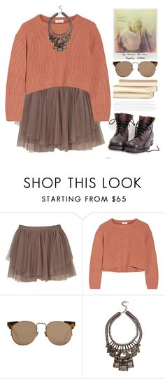 """""""2142. The Week of Challenges ⬇⬇⬇"""" by chocolatepumma ❤ liked on Polyvore featuring Brunello Cucinelli, Linda Farrow, women's clothing, women's fashion, women, female, woman, misses and juniors"""