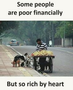 I'm poor by both..