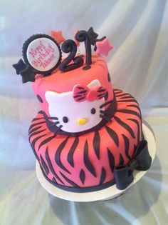 hello kitty cakes and cupcakes | Hello Kitty! 21st Birthday!
